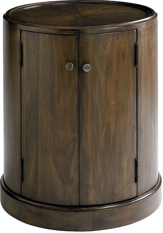 Bassett Living Room Drum Table 6559 0606 Whitley