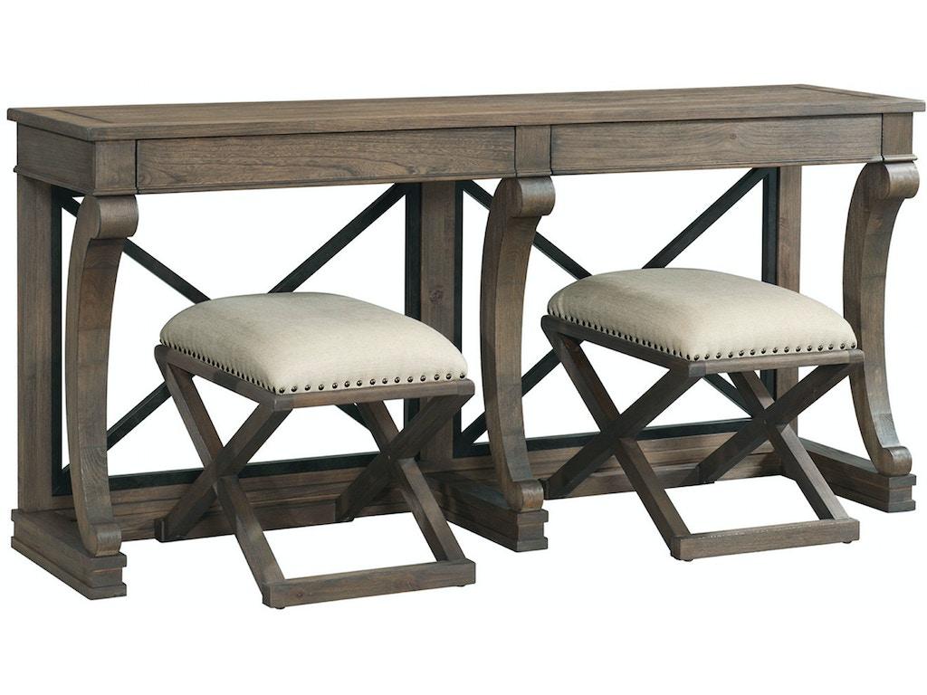 Bassett Living Room Console Table 6728 0698 Woodchucks