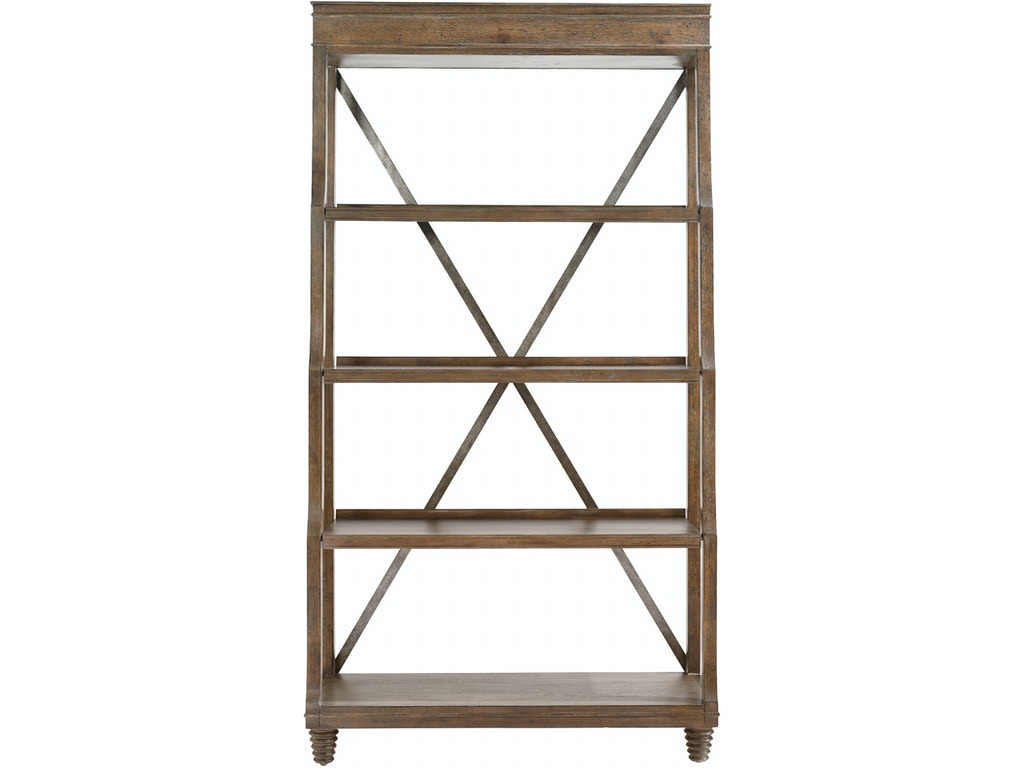 bassett home office etagere 6a25 0682 hickory furniture. Black Bedroom Furniture Sets. Home Design Ideas