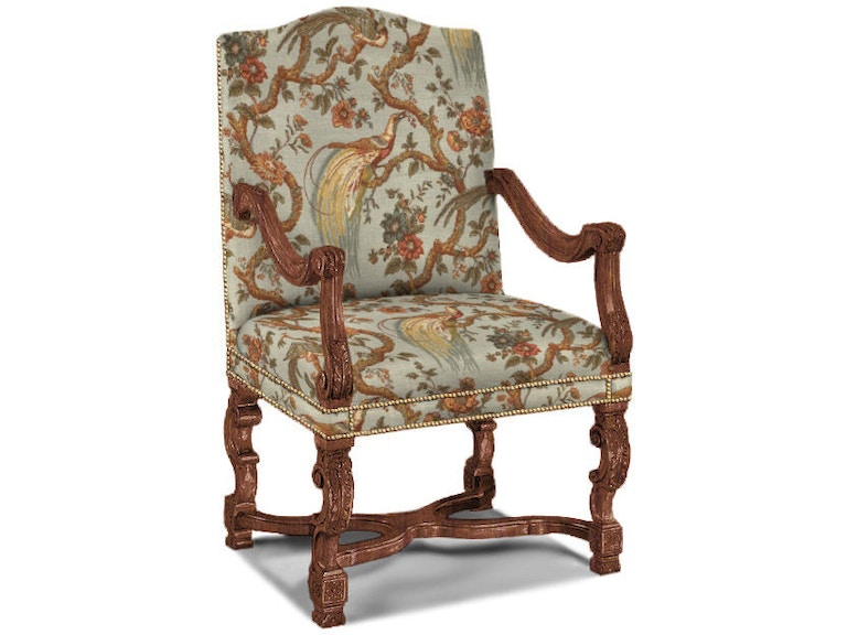Sherrill Dining Room Arm Chair 1110 At Louisiana Furniture Gallery