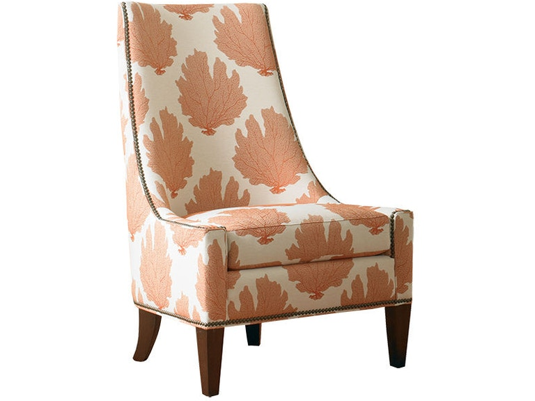 Sherrill Furniture Living Room Armless Chair 1424 Louis