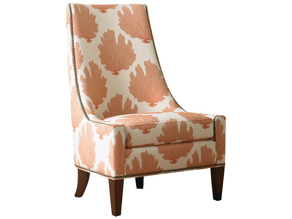 Sherrill Furniture Living Room Armless Chair 1424 Louis