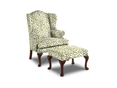 Sherrill Wing Chair 1516-1