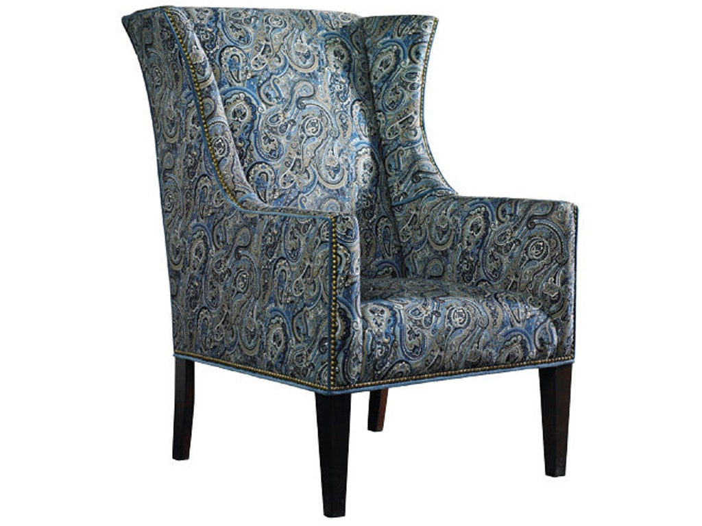 Sherrill Living Room Wing Chair 1556 1 Gibson Furniture Andrews Nc