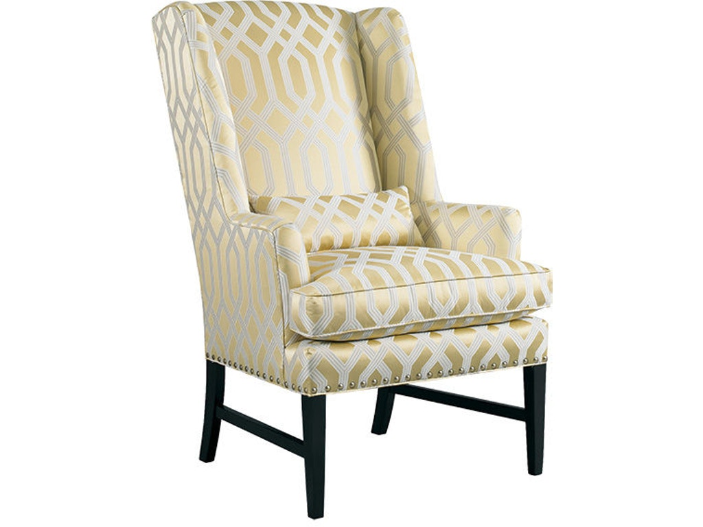 Sherrill living room wing chair 1690 gibson furniture for Wing chairs for living room