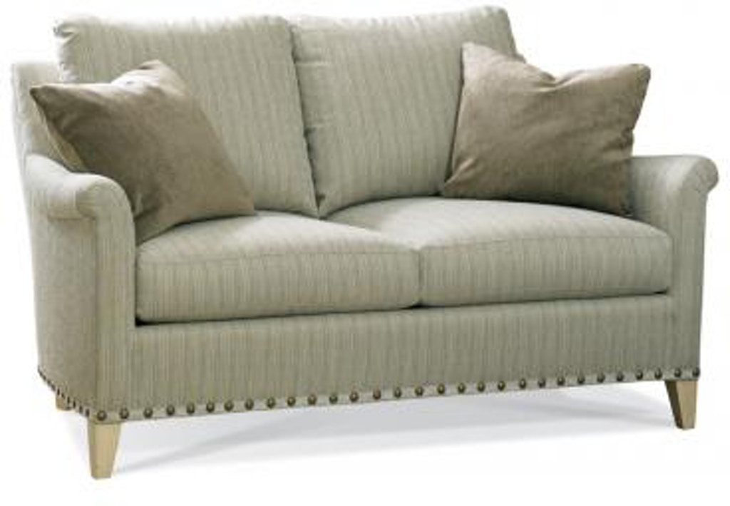 Sherrill Furniture Living Room Loveseat 1923 62 Louis Shanks