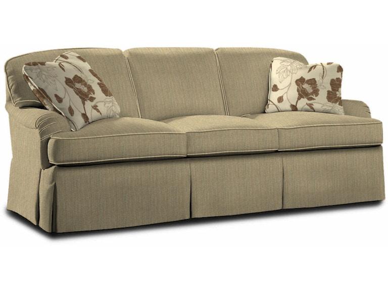Sherrill Loose Pillow Back Three Cushion Sofa 1974