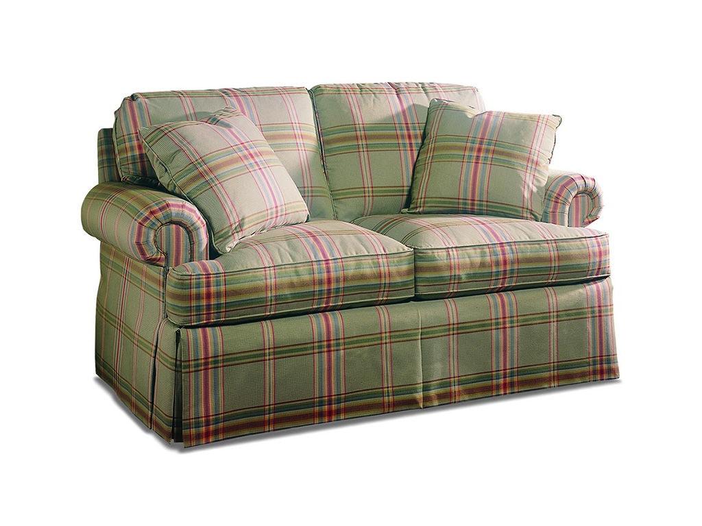 Sherrill Living Room Two Cushion Loveseat 2225 60 Birmingham