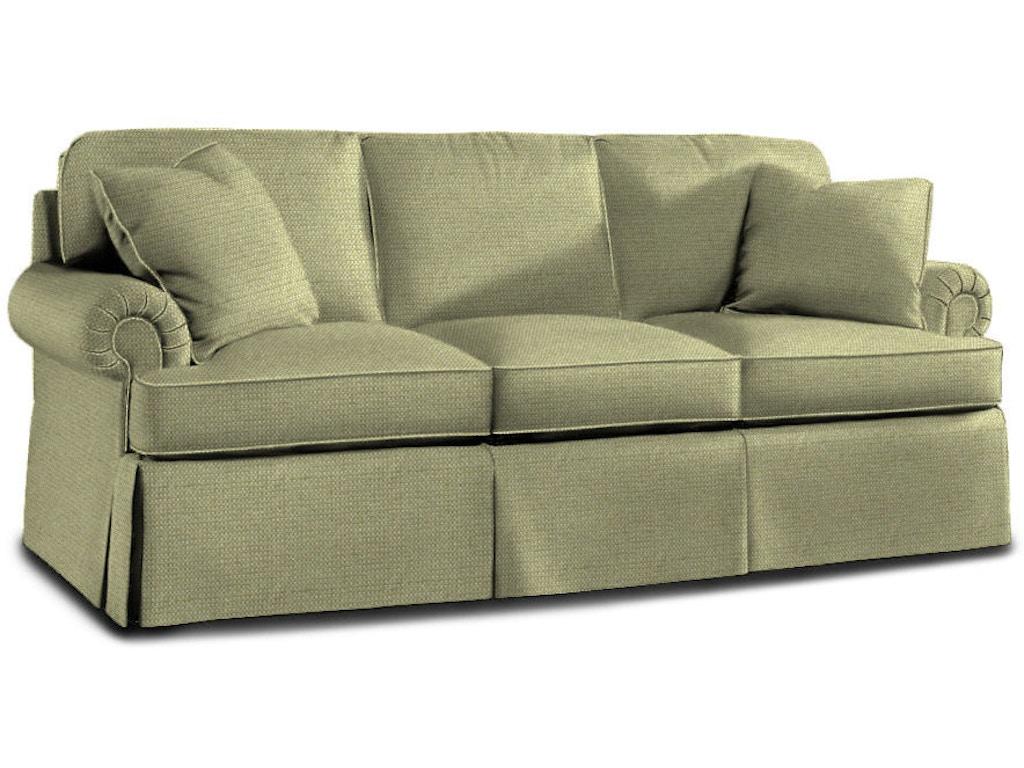 sherrill living room three cushion sofa 222578