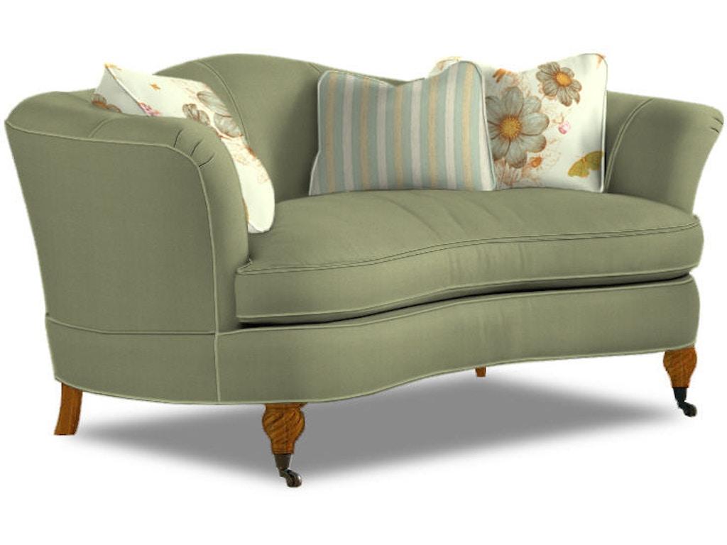 sherrill living room one cushion sofa 2227  ridgemont