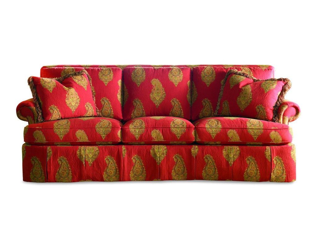 Sherrill Furniture Living Room Three Cushion Sofa 2230