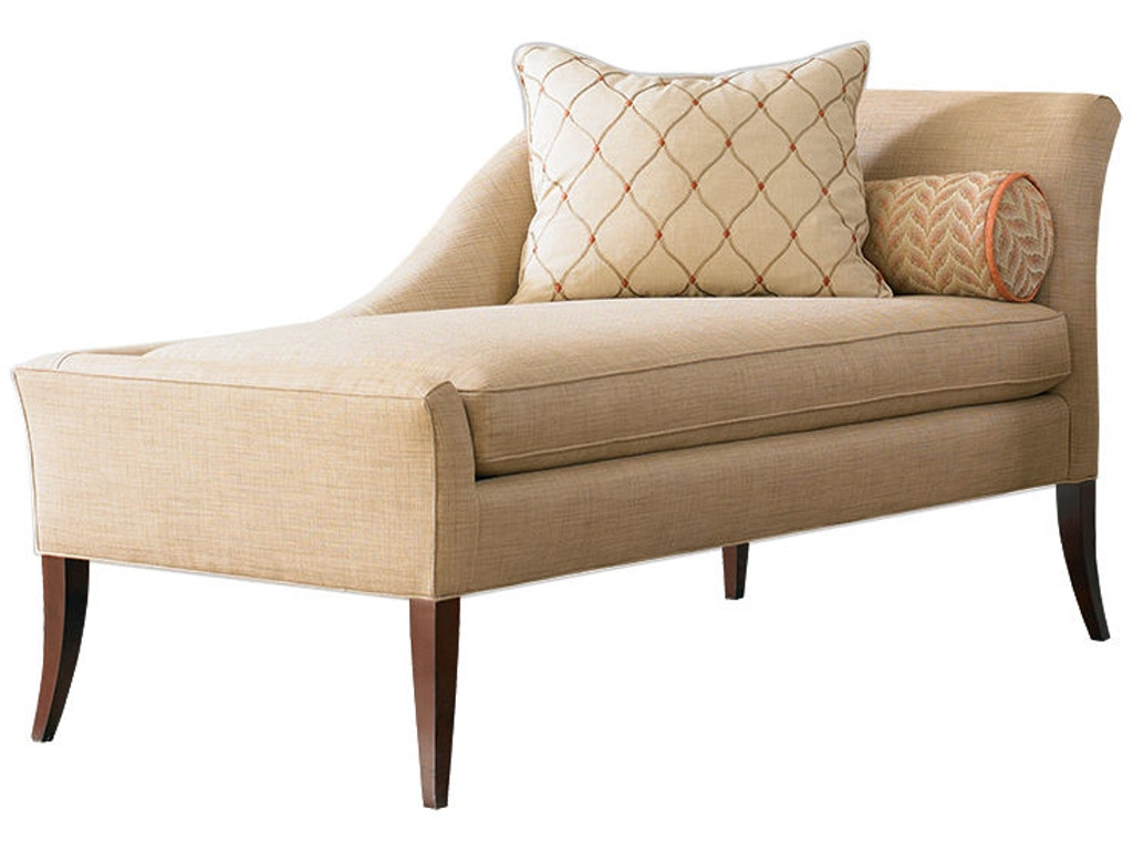 Living room right arm chaise loose seat cushion 2266 at for Chaise interiors