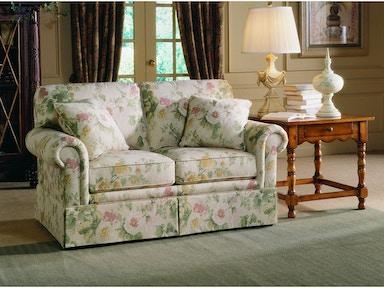 Custom Home Furniture Galleries Two Cushion Loveseat 3061 2 Sherrill Living Room