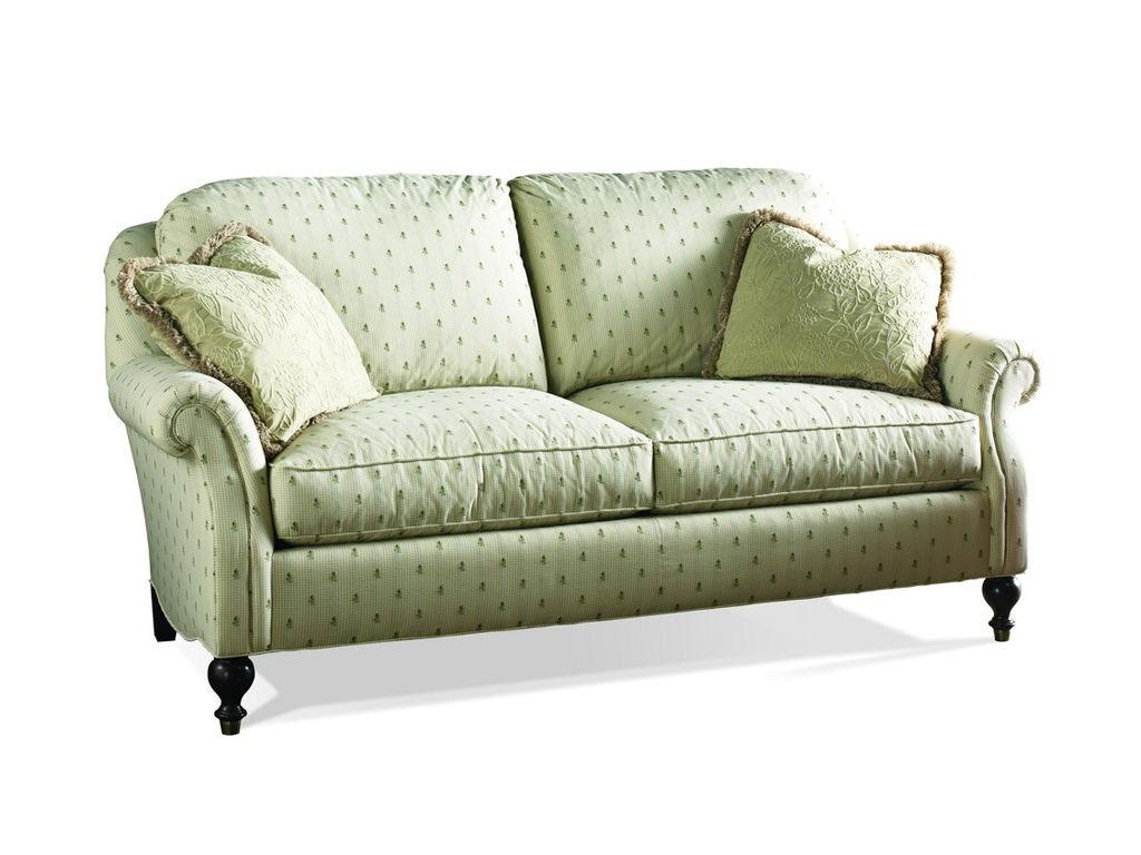 Sherrill Furniture Living Room Loose Pillow Back Sofa 3138