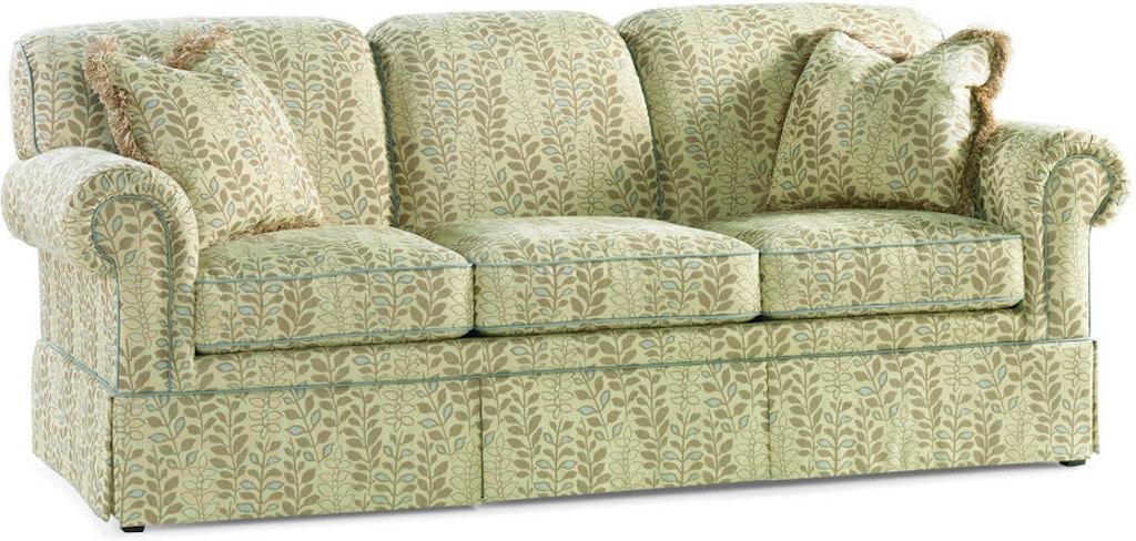 Sherrill Furniture Living Room Three Cushion Sofa 3159 3