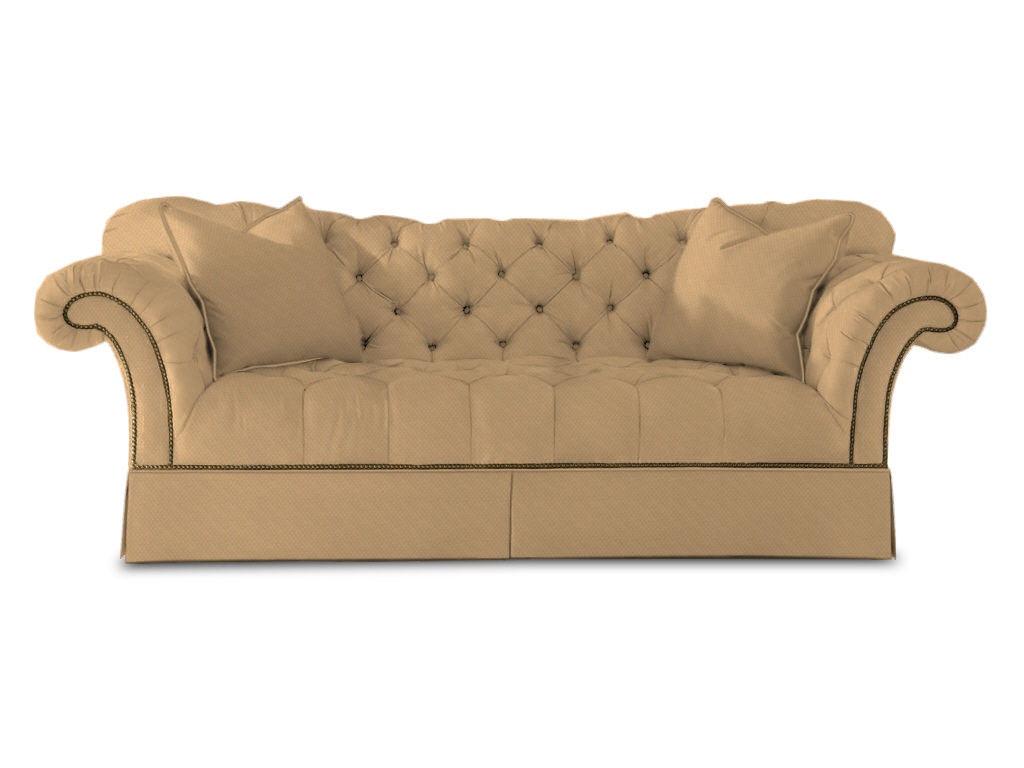sherrill tufted sofa