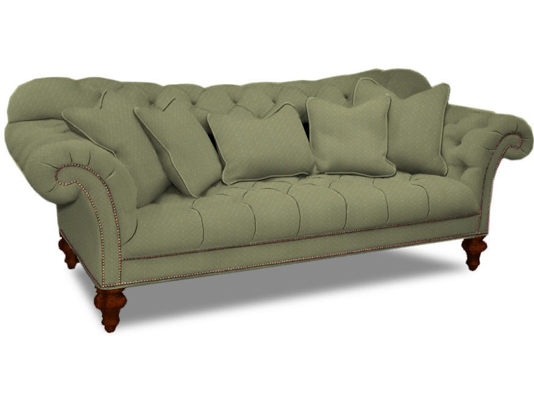 Sherrill 5259 Living Room One Cushion Sofa