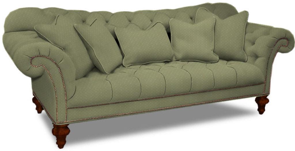 Sherrill Furniture Living Room One Cushion Sofa 5259 At Louis Shanks