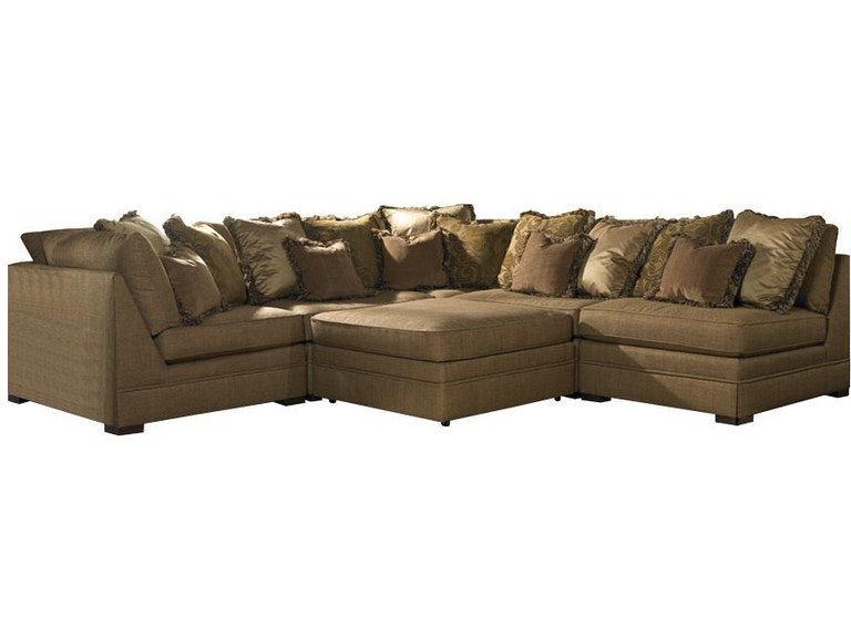 Sherrill Furniture Living Room Sectional 5800-Sect - Louis ...