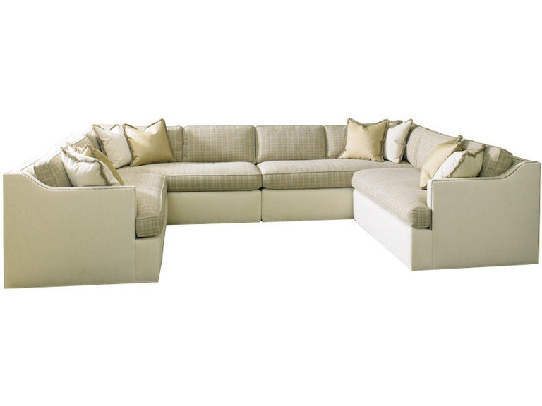 Armless Chair Sectional 5816