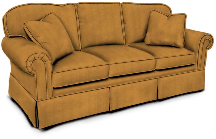 Sherrill Living Room Three Cushion Sofa Sleeper 7074 33