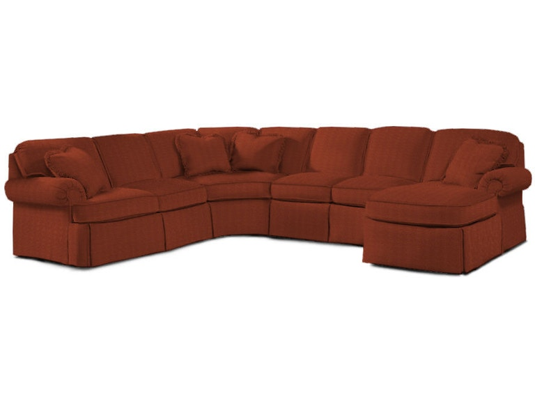 Sherrill Furniture Living Room Sectional 9600-RKD - Louis ...