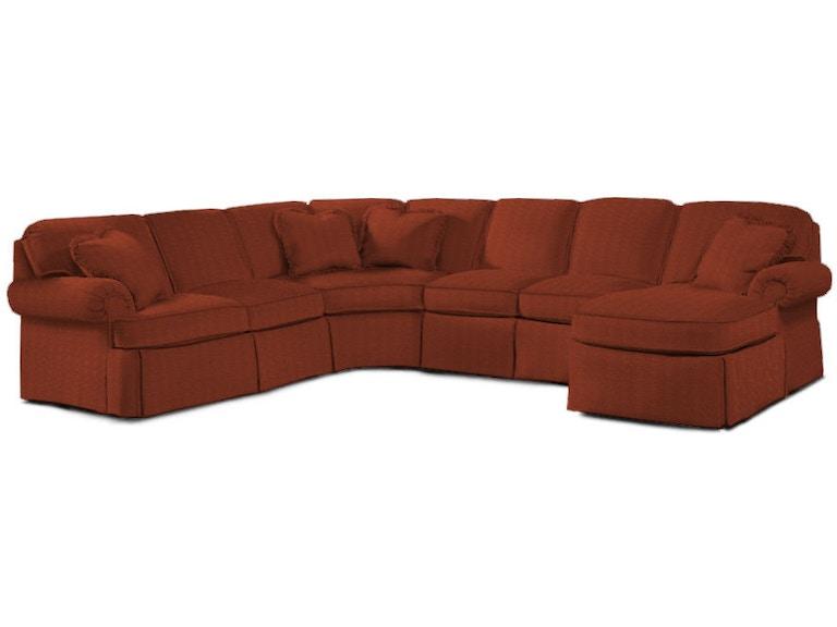 Sherrill Furniture Living Room Sectional 9600-RKD - Louis Shanks ...