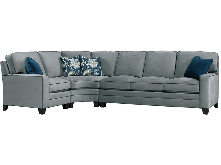 Miraculous Sherrill Living Room Sectional 9700 Tfbh Marty Raes Of Machost Co Dining Chair Design Ideas Machostcouk
