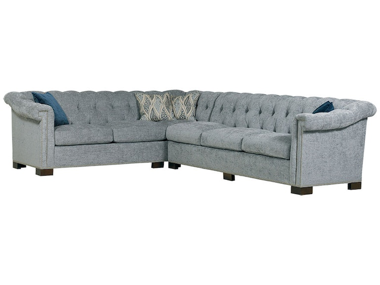 Sherrill Furniture Living Room DC131 Sectional - Louis ...