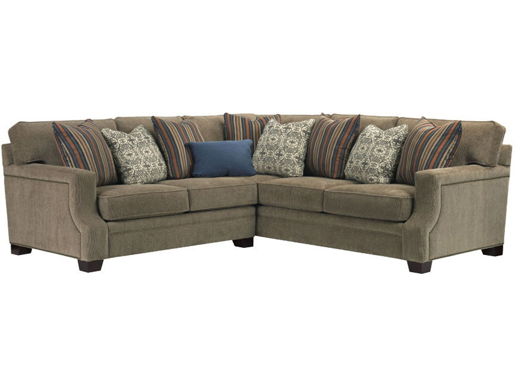 Broyhill Living Room 3671 Sectional Indian River Furniture Rockledge Fl