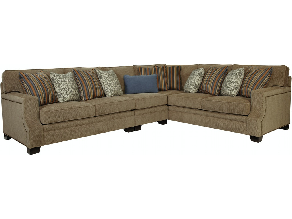 Broyhill living room 3671 sectional joe tahan 39 s for Broyhill furniture
