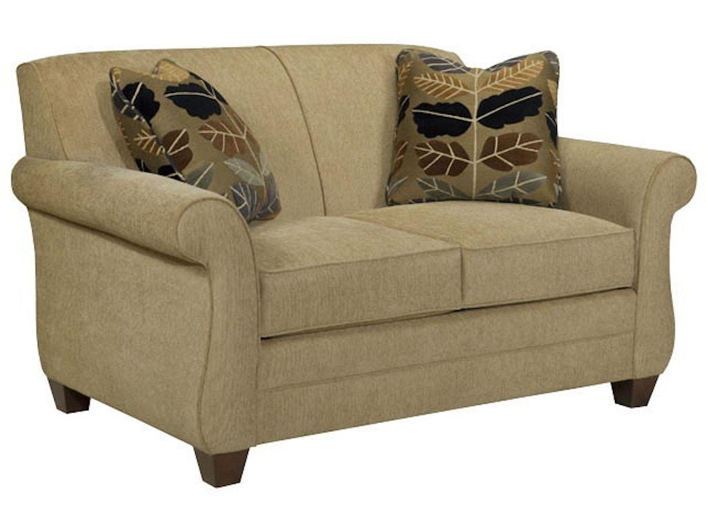 Broyhill Living Room Greenwich Loveseat 3676 1 Quality Furniture Murfreesboro Tn
