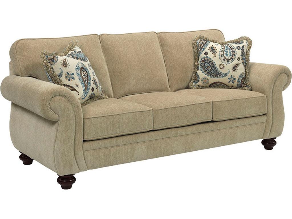Broyhill Living Room Cassandra Queen Goodnight Sofa