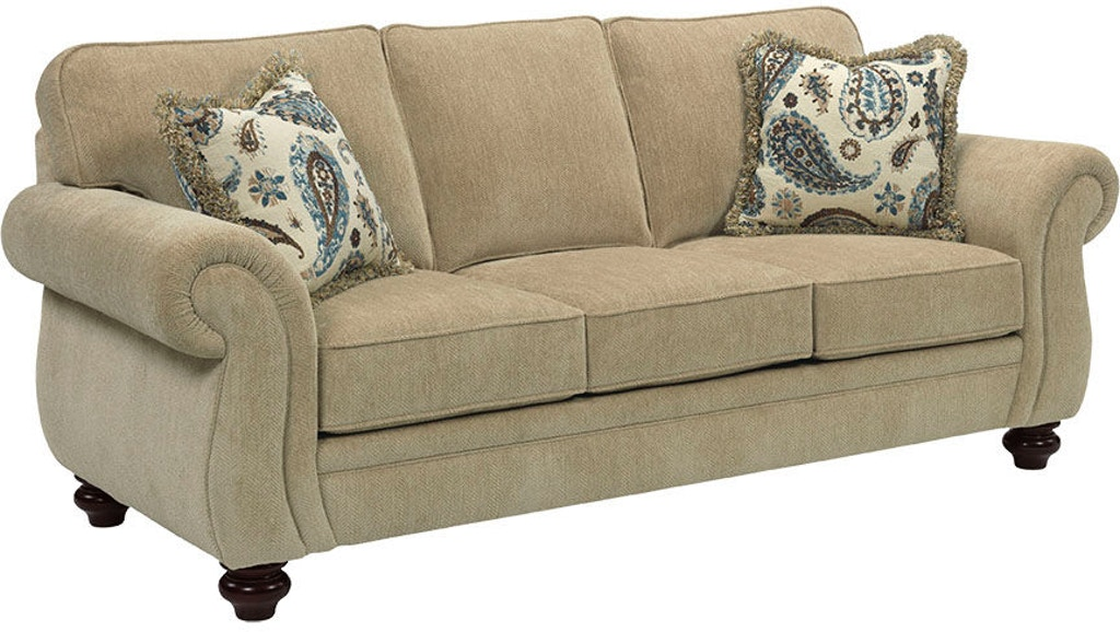 Broyhill Living Room Candra Queen Air Dream Sofa Sleeper 3688 7a At Carol House Furniture