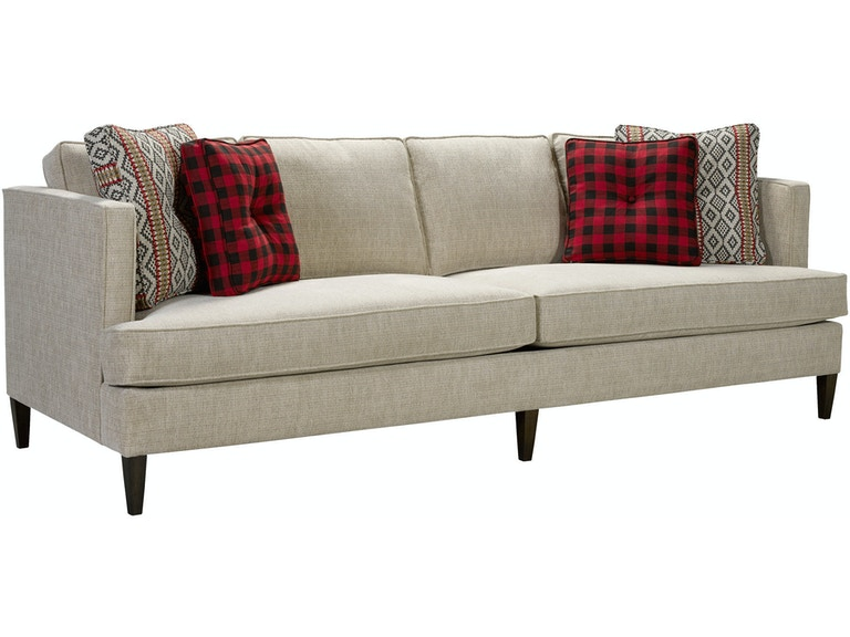 Plaid Sofa Broyhill Baci Living Room