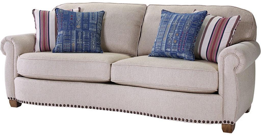 Broyhill Living Room New Vintage Sofa 4258 3 At Carol House Furniture