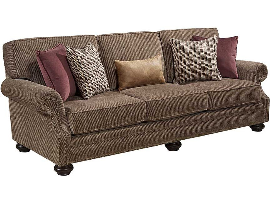 Broyhill living room heuer sofa 4260 3 eller and owens for Sofa eller couch