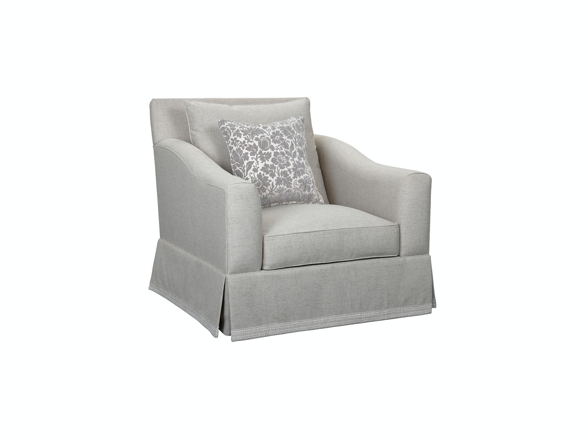 Regina Chair With Border Skirt