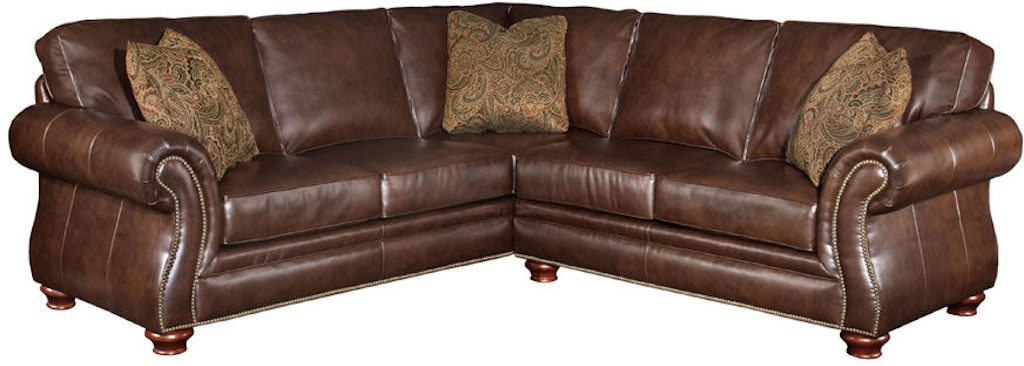 Broyhill Living Room Sanremo Sectional 5084 Sectional Carol House - San-remo-contemporary-leather-sofa