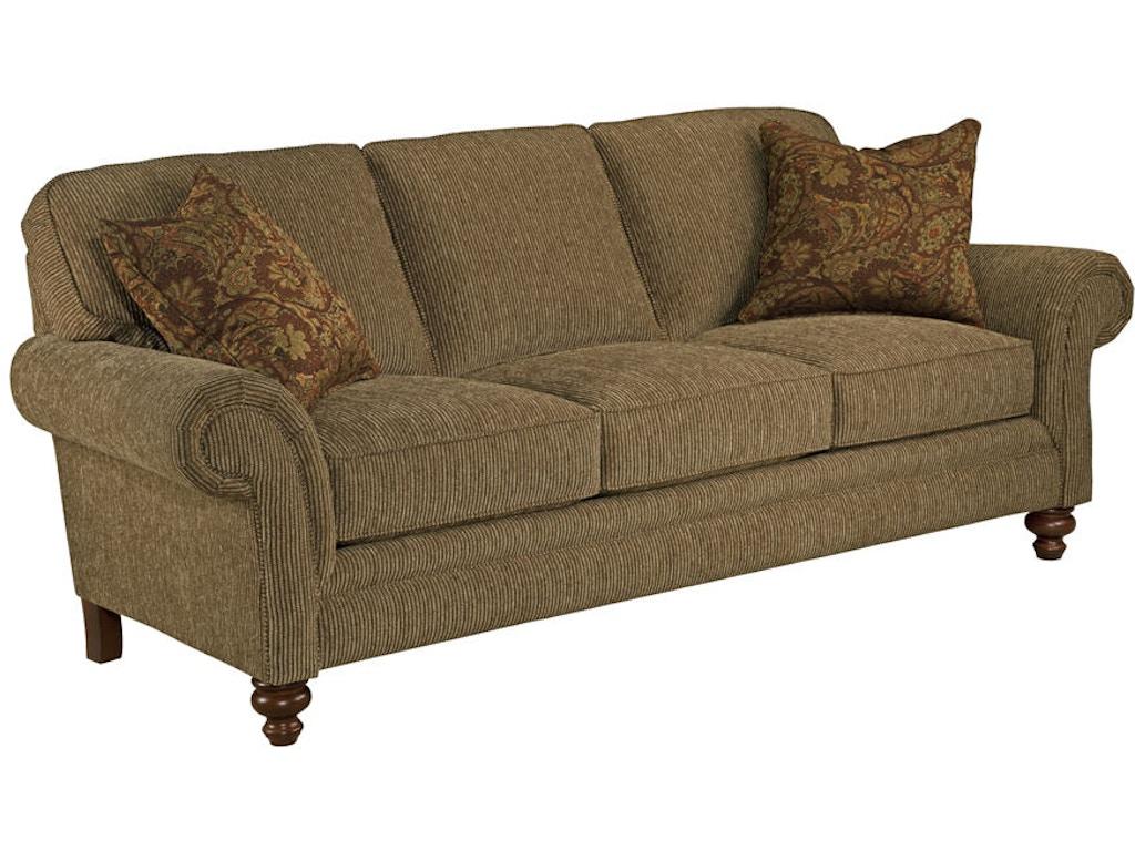 broyhill living room larissa queen air dream sleeper sofa 6112 7a indian river furniture. Black Bedroom Furniture Sets. Home Design Ideas