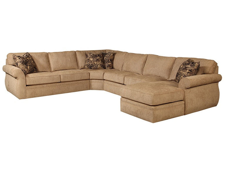 Broyhill Living Room Veronica Sectional 6170 6171