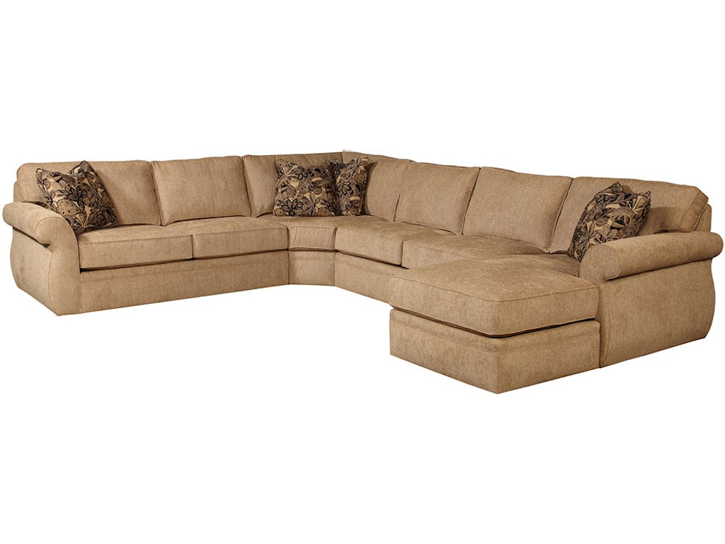 Remarkable Broyhill Living Room Veronica Sectional 6170 6171 Sectional Dailytribune Chair Design For Home Dailytribuneorg