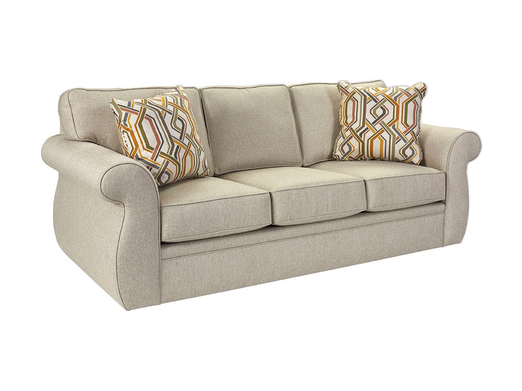 Broyhill Living Room Veronica Queen Air Dream Sleeper 6180-7A - High Country Furniture u0026 Design ...