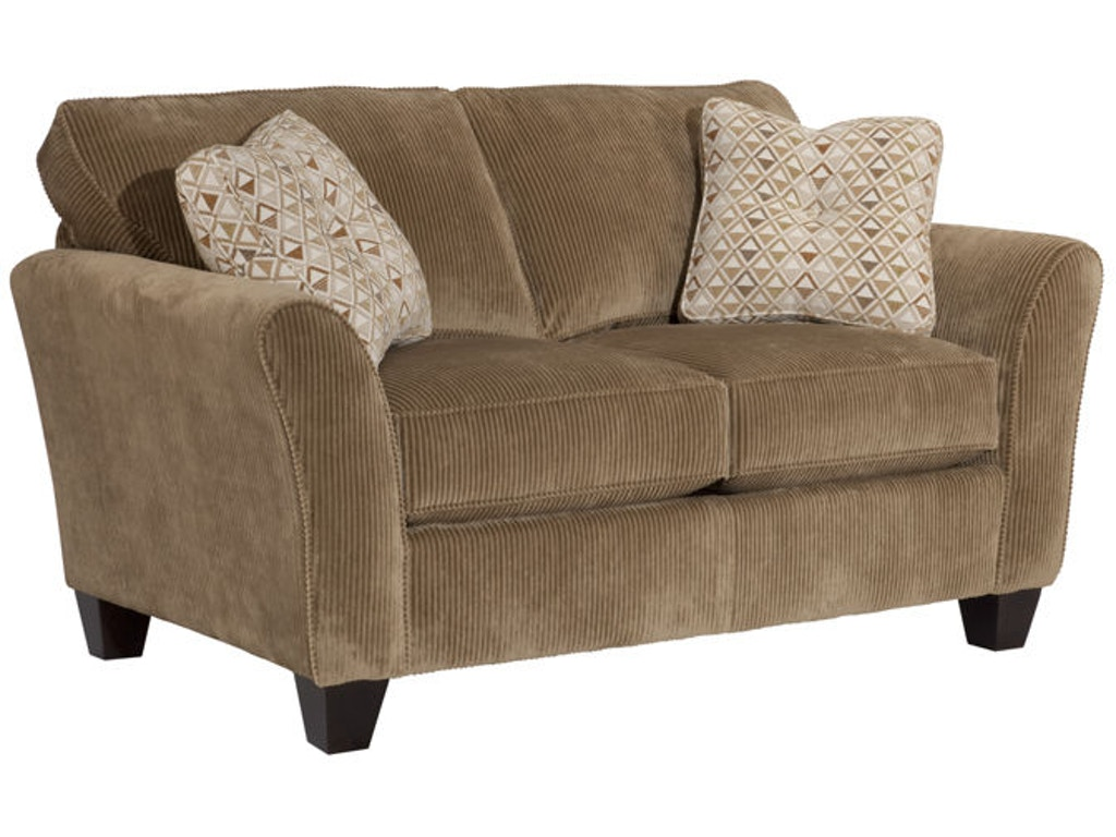 broyhill living room maddie loveseat 6517 1 quality