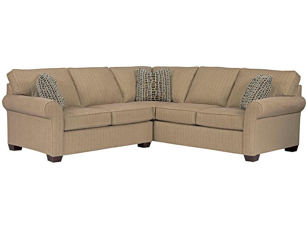 Broyhill Living Room Ethan Sectional 6627 Sectional Burke Furniture Inc Lexington Ky