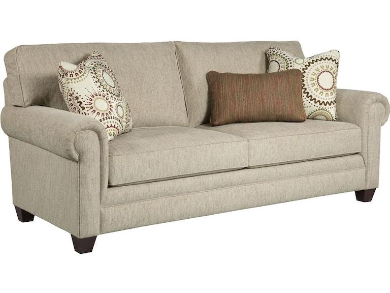 Broyhill Monica Sunbrella Queen Irest Sofa Sleeper S3678 7m