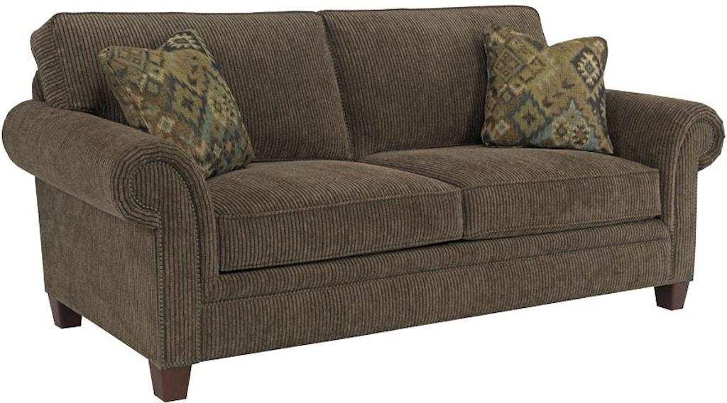 Broyhill Living Room Travis Sunbrella Queen Irest Sleeper S7004 7m Gibson Furniture Andrews Nc