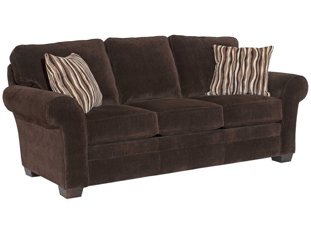 Broyhill Living Room Zachary Sunbrella Queen Irest Sleeper S7902 7m Burke Furniture Inc