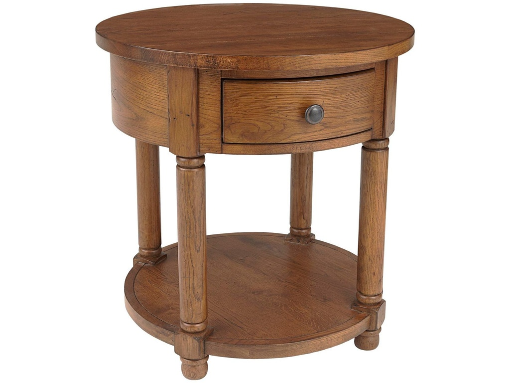 Broyhill Living Room Attic Heirlooms Round End Table 3397