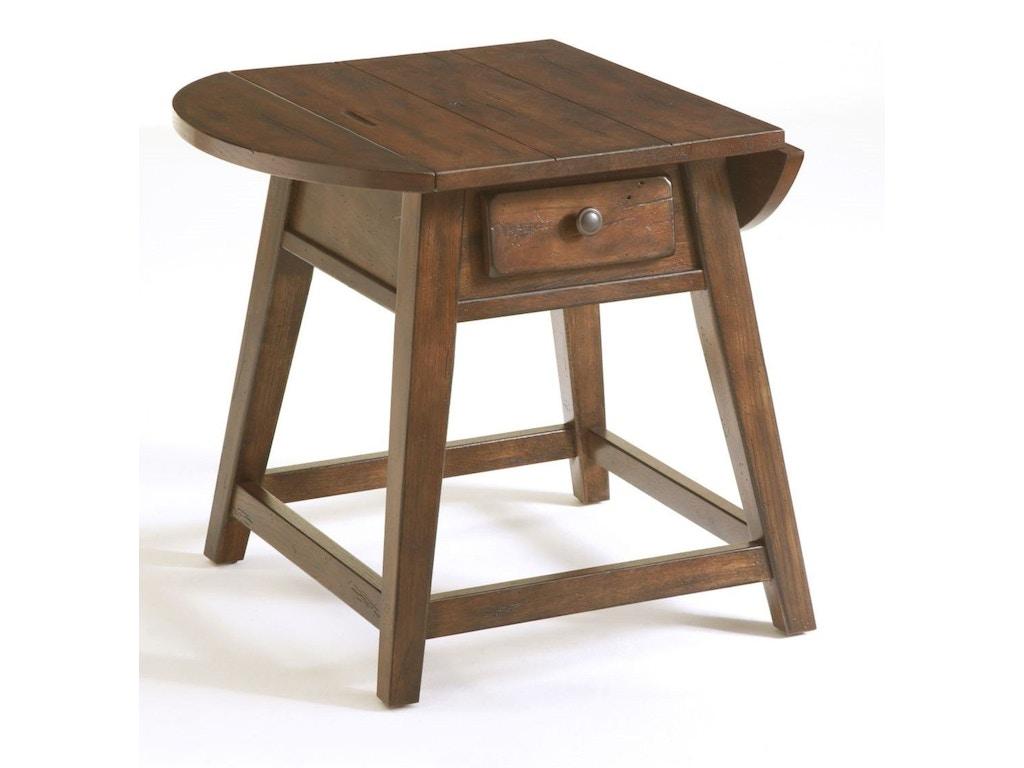 Broyhill Living Room Attic Heirlooms Splay Leg Table